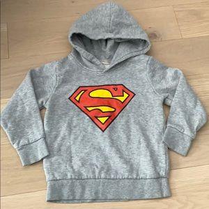 H&M Superman Hooded Sweatshirt Toddler 2-4